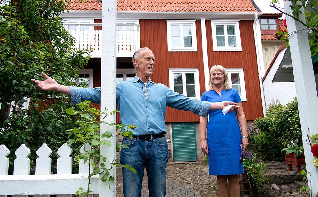 Välkommen till Konstmuseum Martinssonska Gården. Johnny Martinsson.
